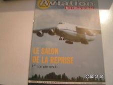 ** Aviation international magazine n°898 Le Bourget 85 / Caravelle