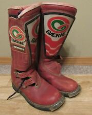 Vintage GAERNE Motocross Boots Supercross ITALY size 5 motorcyle 80s answer
