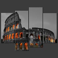 COLOSSEUM ROME ITALY CANVAS WALL ART PICTURES PRINTS LARGER SIZES AVAILABLE