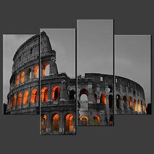 Coliseum ROMA ITALIA Tela Muro Arte Foto Stampa Taglie Grandi Disponibili