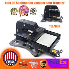 Multi Functional Auto Open 3d Vacuum Sublimation Heat Press Machine For Phone