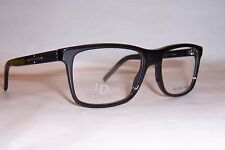 NEW DIOR HOMME CD EYEGLASSES BLACK TIE 140 807 BLACK 53mm RX AUTHENTIC