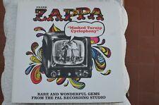 "FRANK ZAPPA ""MASKED TURNIP CYCLOPHONY"" 2 LP GOOD CONDITIONS UK"