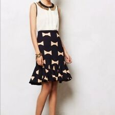 Anthropologie Eva Franco Bow Tie Skirt Size 6