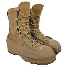 Belleville Mens 790G Gore Tex Boots Sz 8 R Tan US Army Military Combat Boots Euc