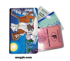 aristochats 014 étui pochette carte grise carte d'identité permis
