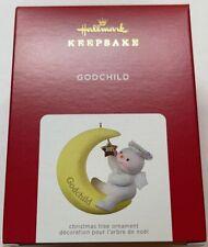 Hallmark 2021 Godchild Snow Angel Christmas Ornament New with Box