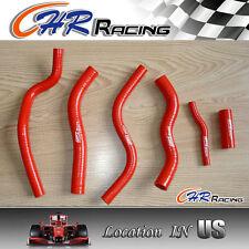Honda CR125 CR125R CR 125 R 90 91 92 93-97 94 95 96 1997 1990 radiator hose RED