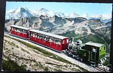 Switzerland~ BRIENZER ROTHORN BAHN ~ SWISS RAILWAY