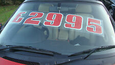 cars sale price sets reuseable selfcling stickers