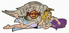 Hard Rock Cafe HOLLYWOOD 2007 ROCK ANGEL Series PIN #2 Sexy Girl Piano #36030