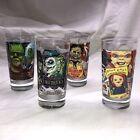 Halloween Horror Nights 2021 Universal Studios Complete Set of 4 Glasses NEW!!!