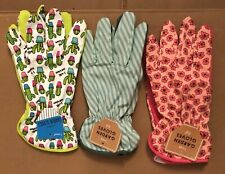 (3) Bullseyes Playground Superb & Practical Gardening Gloves - Elastic Wrists