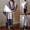 Women's Soft Extra Long Winter Scarf Knit Luxurious Shawl Fringe Oversized