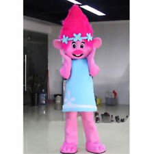 2017 Trolls Princess Poppy Mascot Birthday party game Parade Costume dress adult