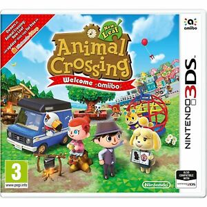 ANIMAL CROSSING: NEW LEAF  WELCOME AMIIBO NINTENDO 3DS 2DS VIDEOGIOCO NUOVO