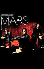 30 SECONDS TO MARS ~ SITTING 24x36 MUSIC POSTER Jared Shannon Leto Thirty