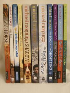 Michael Morpurgo 11 Book Bundle!! - War Horse/Private Peaceful +9 (Paperback)