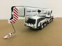 Sinomach TTC100G2-II Crane White 1:50 Scale Metal Model New in Original Box