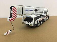 Sinomach TTC100G2-II Crane White 1/50 Scale Metal Model New in Original Box