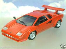 PartWork Diecast 1/43 Lamborghini Countach LP500 LP500S Rojo 1982-90 Blister