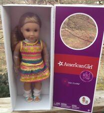American Girl Lea Clark + Book 18 inch Doll GOTY Messenger Bag Brazil LE Retired