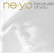 Because of You By Ne-Yo Hip Hop & R&B! Def Jam (USA) 2007 CD!