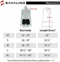 SAVALINO Women's Athletic Tennis Dress with a Two-Piece, Yellow, Size Small p7