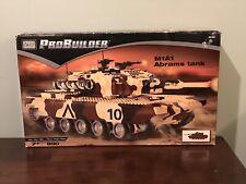 Mega Bloks ProBuilder M1A1 Abrams Tank #9734 - Brand New Unopened NIB