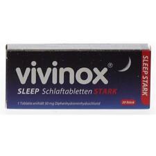 VIVINOX Sleep Schlaftabletten stark 20 St PZN: 2083906 (0,29€/1 St.)