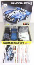 ford a cobra 1965 scala 1/24 kit nuovo con scatola