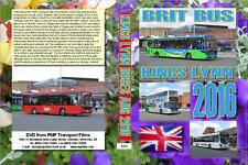 3373. Kings Lynn. UK. Buses. August 2016. A mid week visit in partly sunny weath