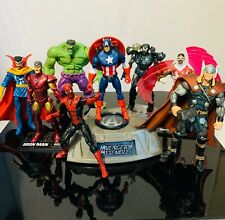 Marvel Universe 3.75 Lot of Avengers: Captain America, Ironman, Spiderman, Hulk