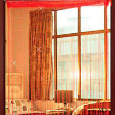 14Colors String Door Curtain Beads Room Window Panel Tassel Fringe Luxurious