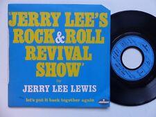 JERRY LEE 's rock n roll revival show JERRY LEE LEWIS 6167395 FRANCE RRR