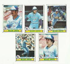 VINTAGE 1979 TOPPS BASEBALL CARDS – TORONTO BLUE JAYS – MLB