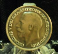 CIRCULATED 1918 ONE PENNY UK COIN (80719)1.....FREE DOMESTIC SHIPPING!!!!!