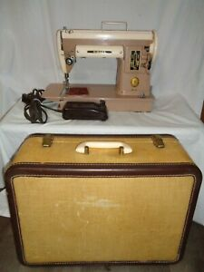 VINTAGE ONE OWNER SINGER 301A PORTABLE SEWING MACHINE ~ VERY NICE ~ PLEASE READ