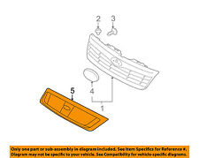 SUBARU OEM 2009 Forester-Grille Grill J1010SC100HB