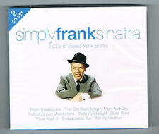 SIMPLY FRANK SINATRA - 2 CD SET 40 TRACKS - 2010 - NEUF NEW NEU