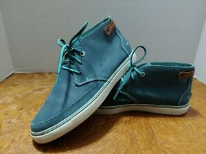 Lacoste Clavel AP 5 Size 9.5 Suede Sneaker Ankle Boots