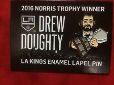 2017 Drew Doughty Los Angeles LA Kings Enamel Norris Trophy Lapel Pin - New
