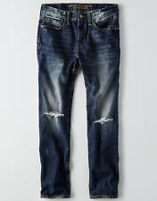American Eagle Outfitters ORIGINAL STRAIGHT JEAN Medium Vintage Wash size 32x34