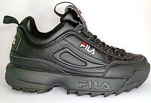 FILA Disruptor 2 'Black Black' Sneaker shoes US 7, UK 4.5, EUR 38, 24 cm