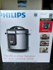 Philips HD2137 6L All-In-One Cooker - Silver