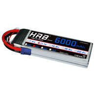 HRB 3S 11.1V 6000mAh RC Lipo Battery 50C 100C EC5 for RC Drone Airplane Car Boat