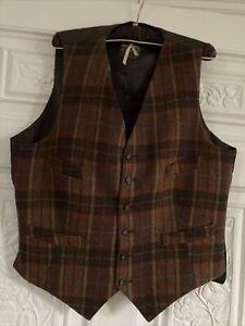 """Irish Tweed Waistcoat Size 44"""""""
