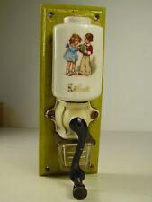 Antike Puppenküchen Wandkaffeemühle vor 1945 (1)