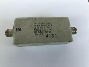 Low Pass Filter MICROWAVE