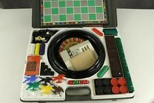Vintage Toy Bar Zim Tower Game Case 1959 No 1450 Dominoes Dice Horse Race & More